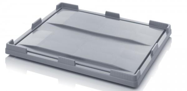 Deckel für Palettenboxen 1200x1000 mm - grau
